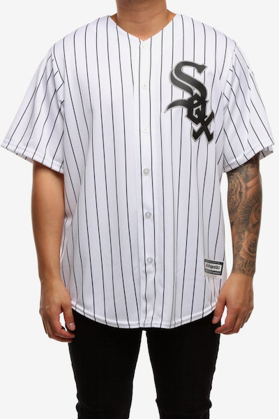 Majestic Athletic Chicago White Sox Home Cool Base Jersey White/Black