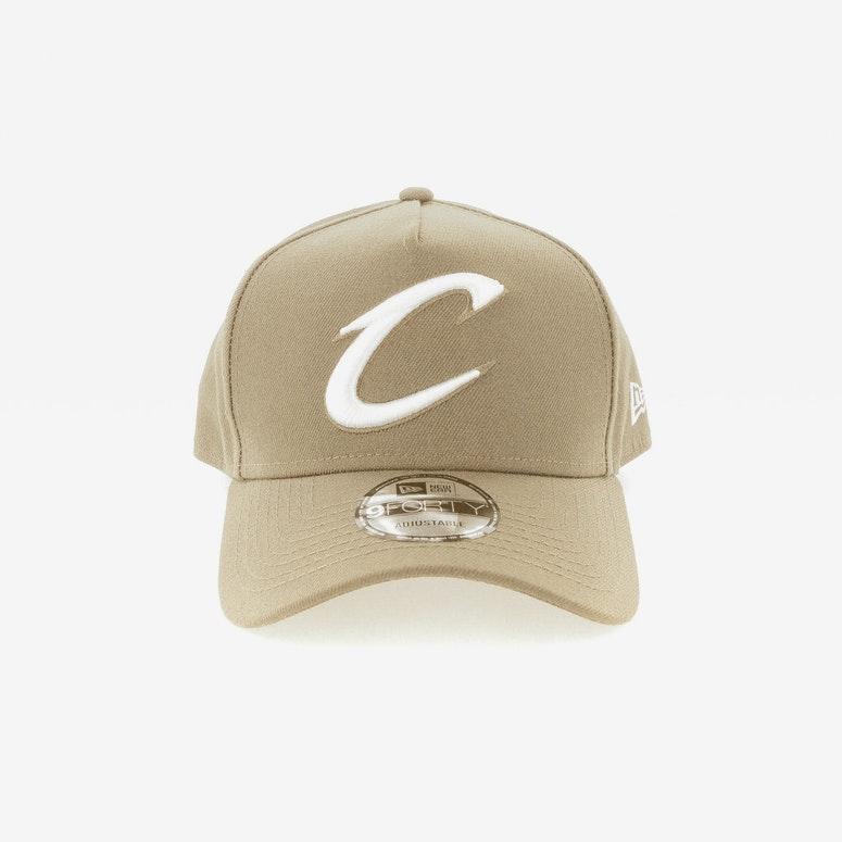 New Era Cleveland Cavaliers CK 940 A-Frame Snapback Sand/White ...