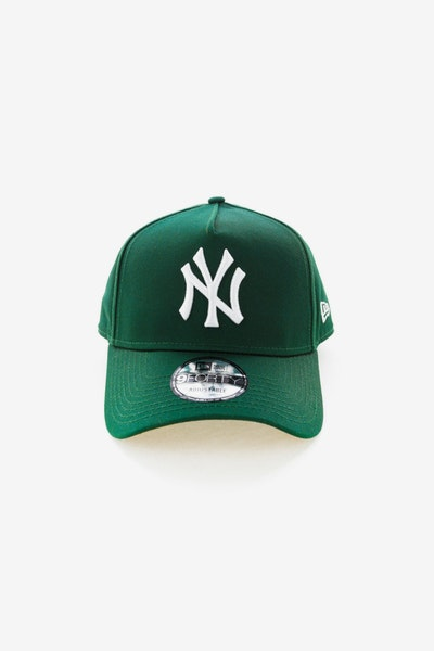 New Era New York Yankees 940 A-Frame Snapback Dark Green