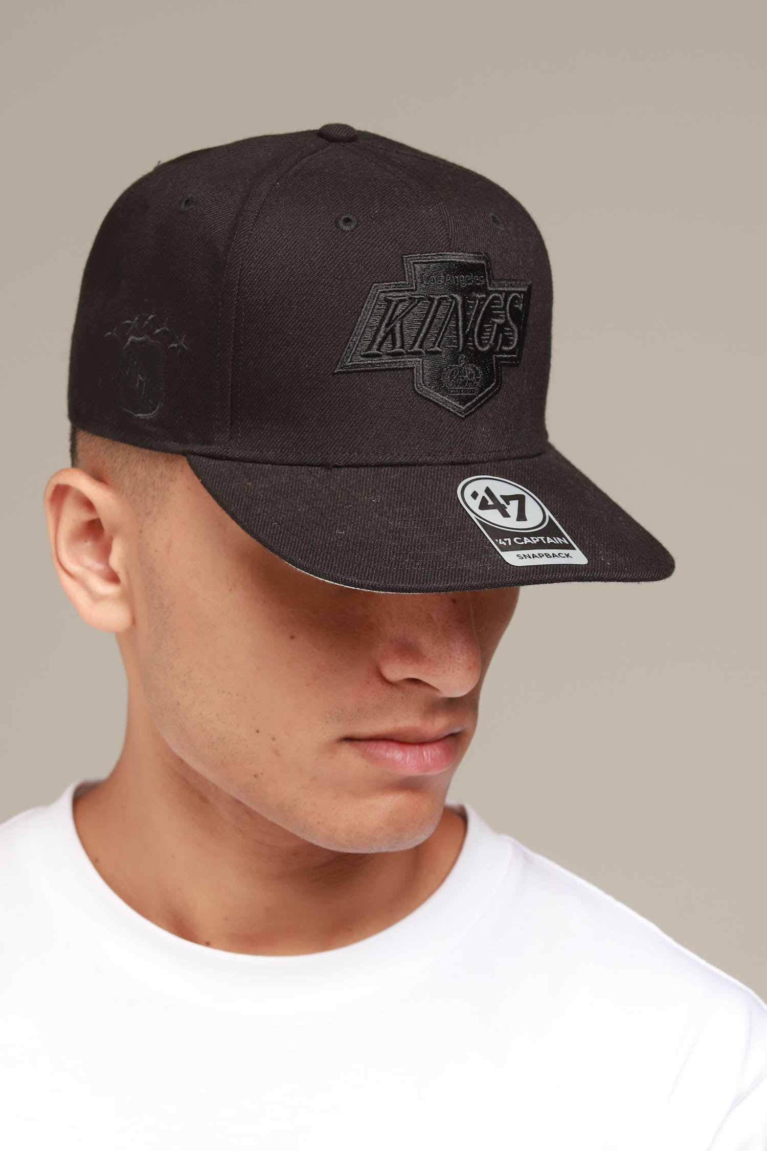 GRIM Los Angeles Kings charcoal 47 Brand Trucker Cap