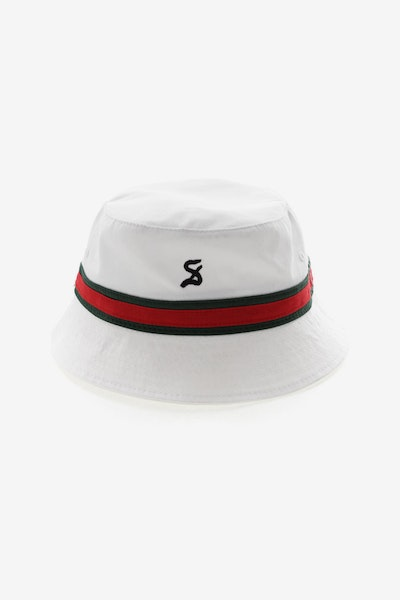 Saint Morta Prestige Bucket Hat White/Green/Red