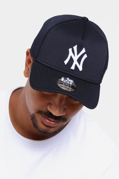 98f91b1a891 New Era New York Yankees 9FORTY A-Frame Neo Snapback Navy