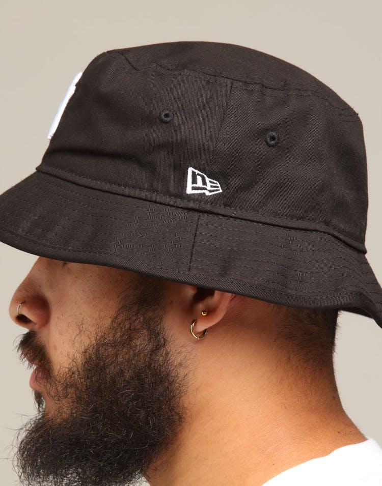 2cddfc724 New Era New York Yankees Bucket Hat Black/White