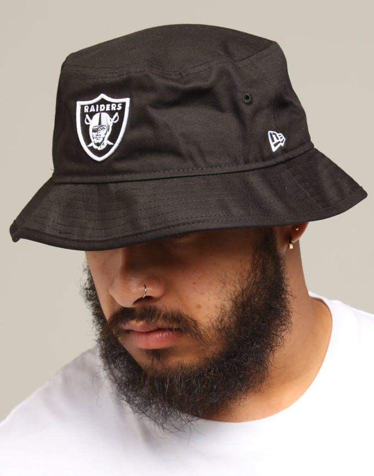 4c27e9b5a New Era Raiders Bucket Hat Black/White