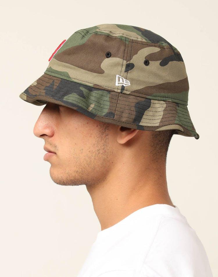 452ee6ed6c818e New Era Boston Red Sox Bucket Hat Camo – Culture Kings US