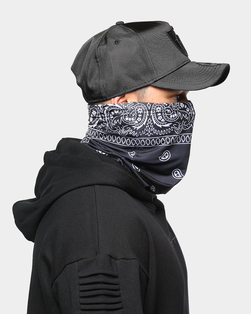 Saint Morta Men's Bandana Snood Black/White