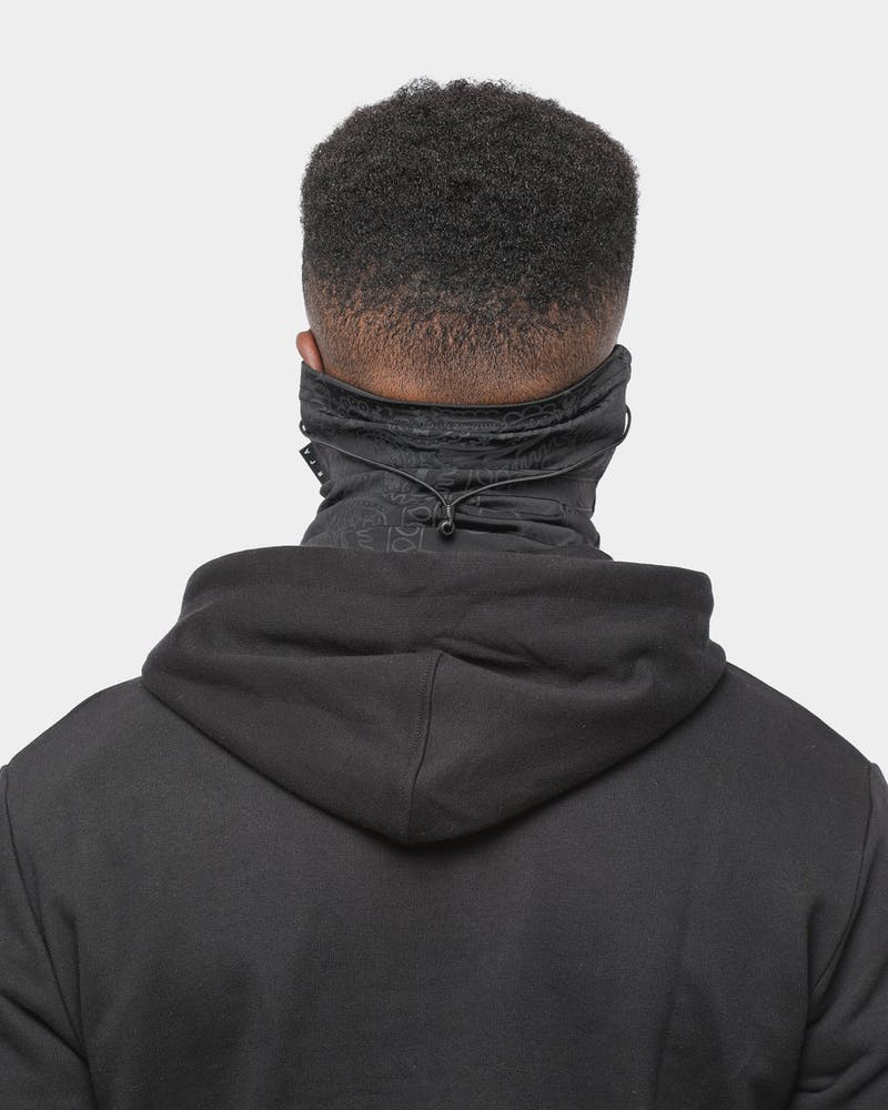 Saint Morta Bandana Snood Black/Charcoal