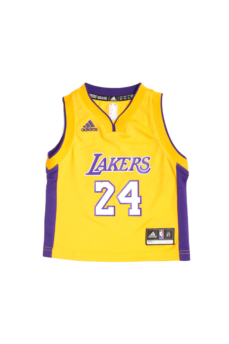 NEW! 5//6 Adidas Little Boys Los Angeles Lakers Kobe Bryant Jersey Size M