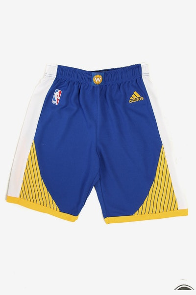 Adidas Warriors Replica Road Youth Shorts Royal