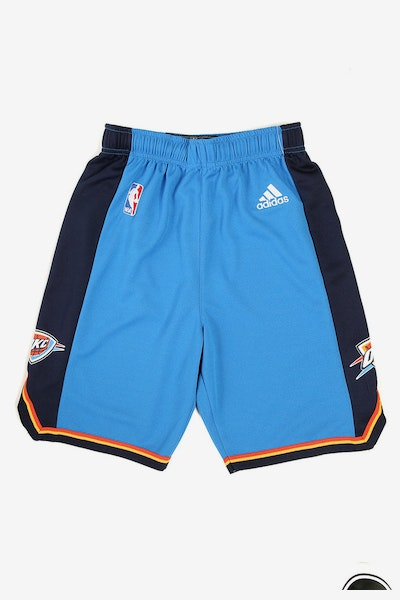 Adidas Thunder Replica Road Youth Shorts Blue