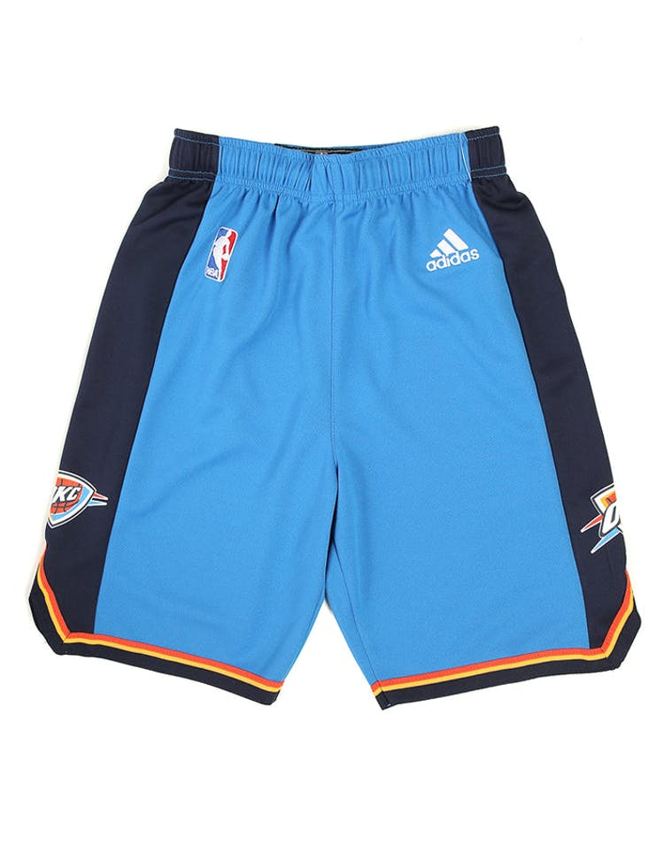 9c98ef6121 Adidas Thunder Replica Road Youth Shorts Blue