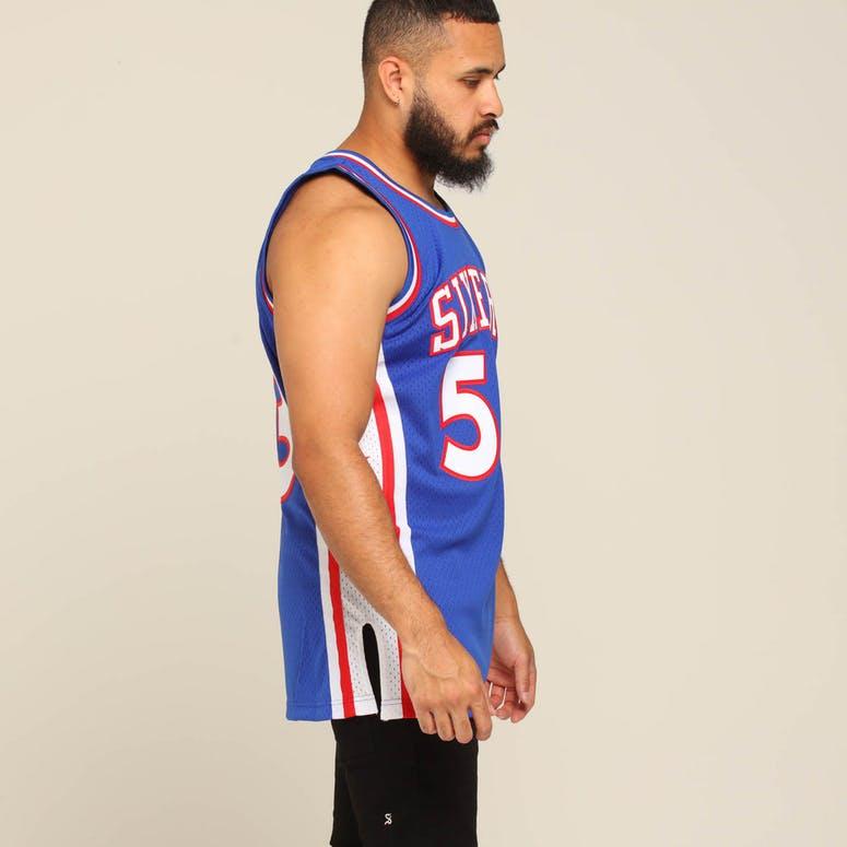 reputable site 912a9 1ffce Mitchell & Ness Philadelphia 76ers Darryl Dawkins #53 NBA Swingman Jersey  Royal