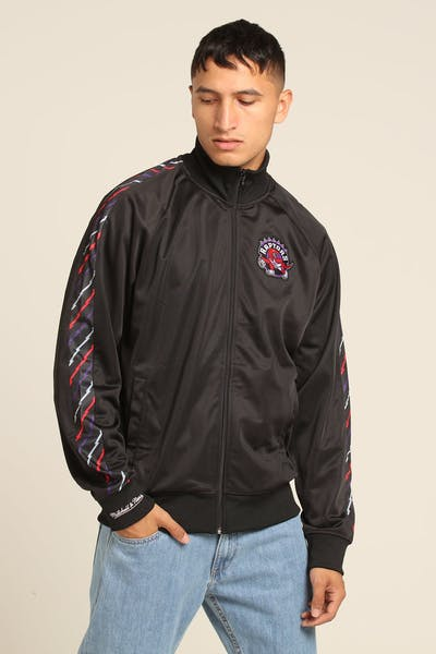 Mitchell & Ness Toronto Raptors Panel Track Jacket Black