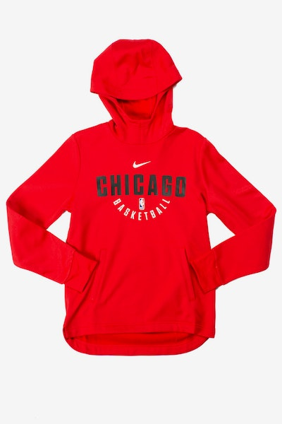 Nike Youth Elite Practice Chicago Bulls Hood Red