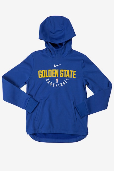 Nike Youth Elite Practice Golden State Warriors Hood Blue