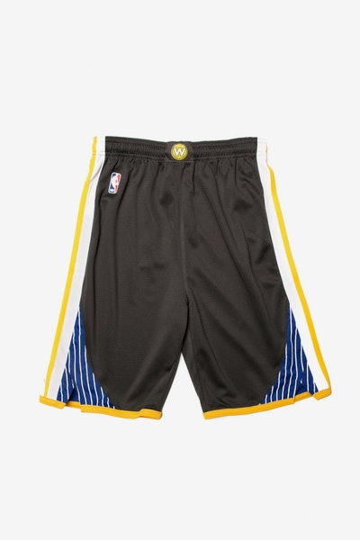 Golden State Warriors Nike Statement Youth Swingman Shorts Charcoal