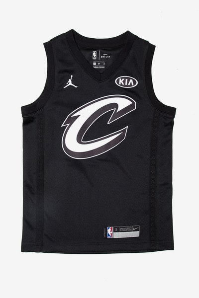 Nike LeBron James #23 All-Star Kids Jersey Black