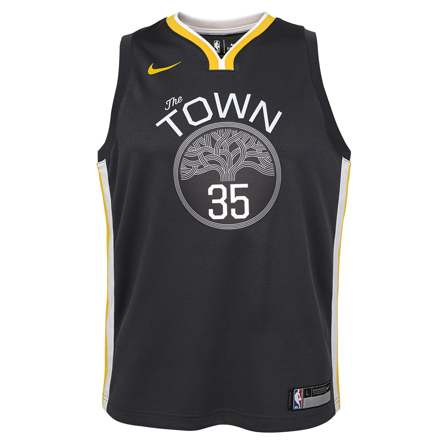 New Kevin Durant #35 Warriors YOUTH S-M-L-XL Replica or Swingman Adidas Jersey