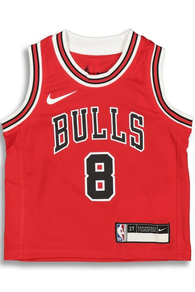 0dfaf35ac Nike Toddler Chicago Bulls Zach LaVine  8 Icon Replica NBA Jersey Red