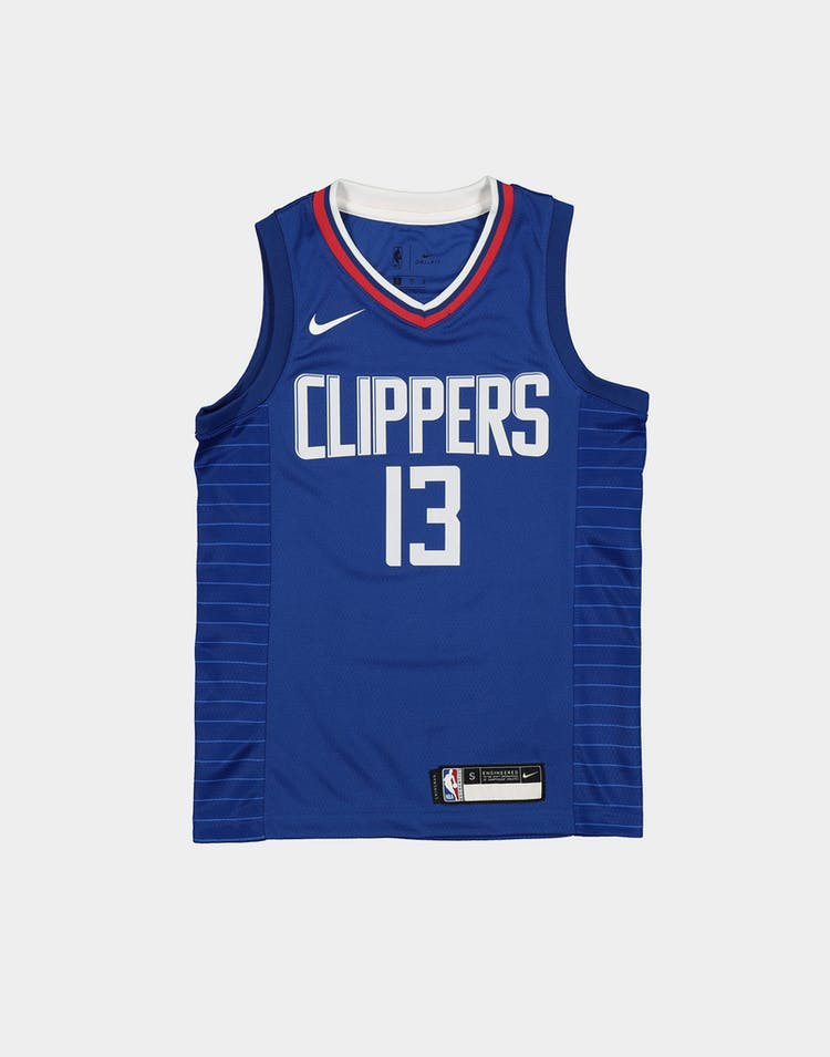 Nike Boys Los Angeles Clippers Paul George #13 Icon Swingman Royal