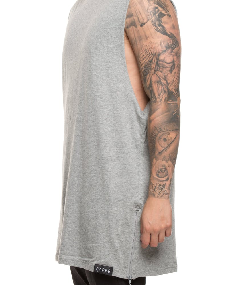 Carré Capone 3.0 Muscle Tee Grey