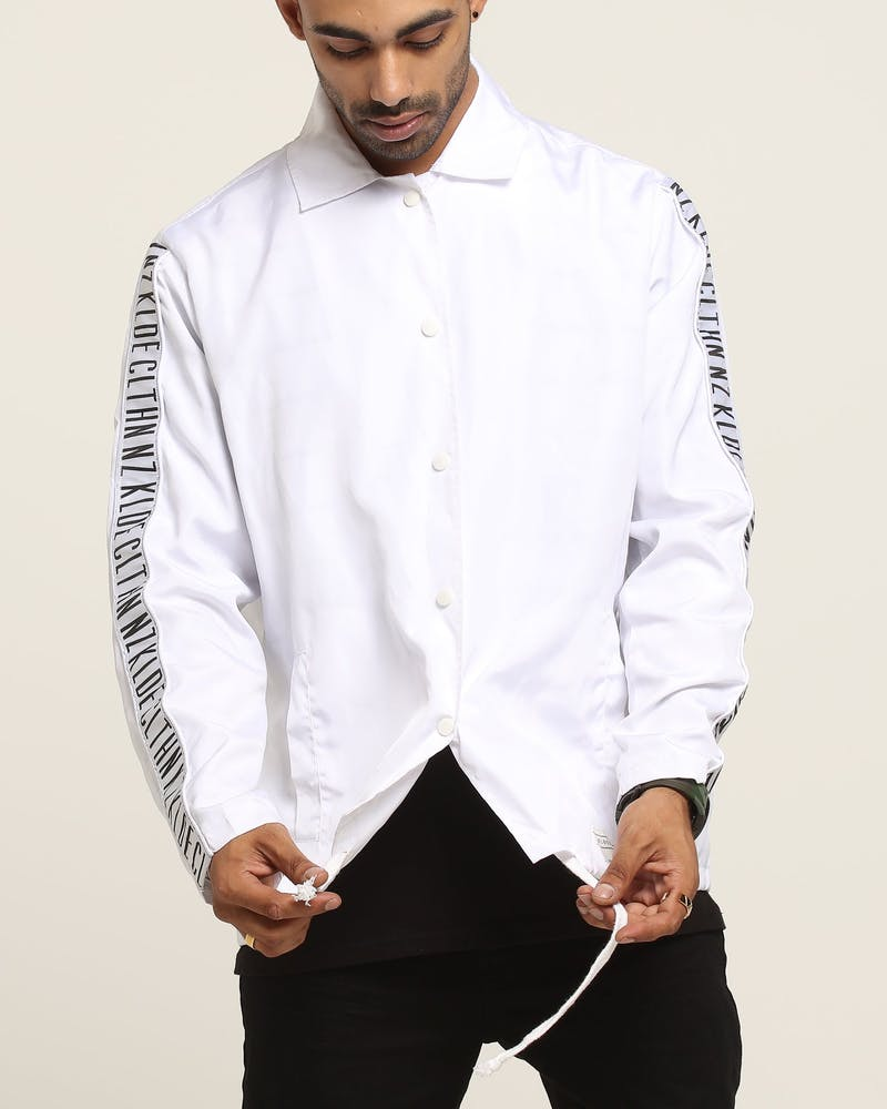 Kloude Clothing Leisure Coach Jacket White