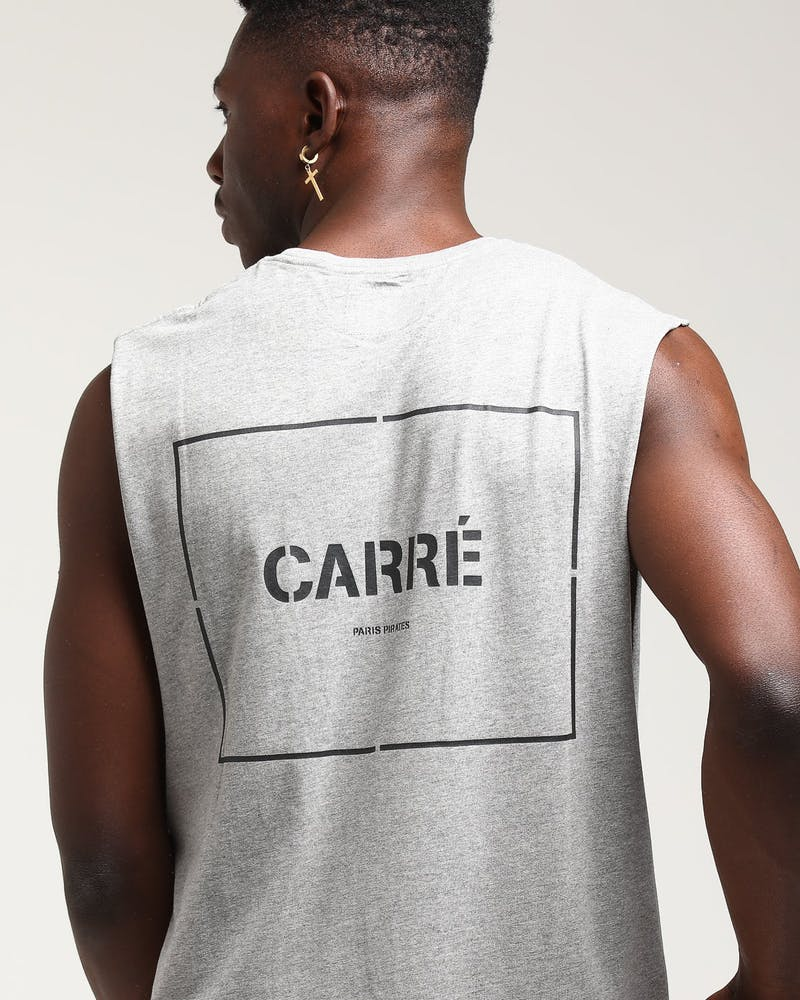 Carré Section 2 Capone Muscle Tee Grey Heather