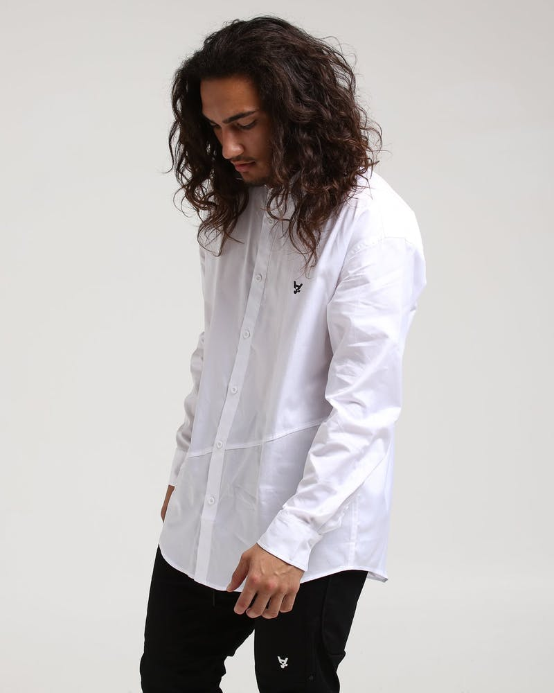 The Anti-Order Non Formal L/S Shirt White