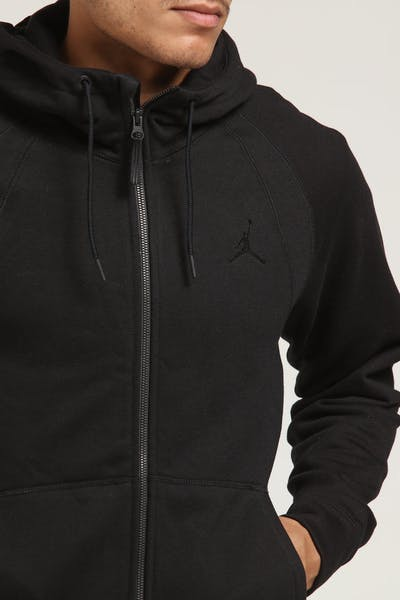 Jordan Wings Fleece Hoodie Black/Black