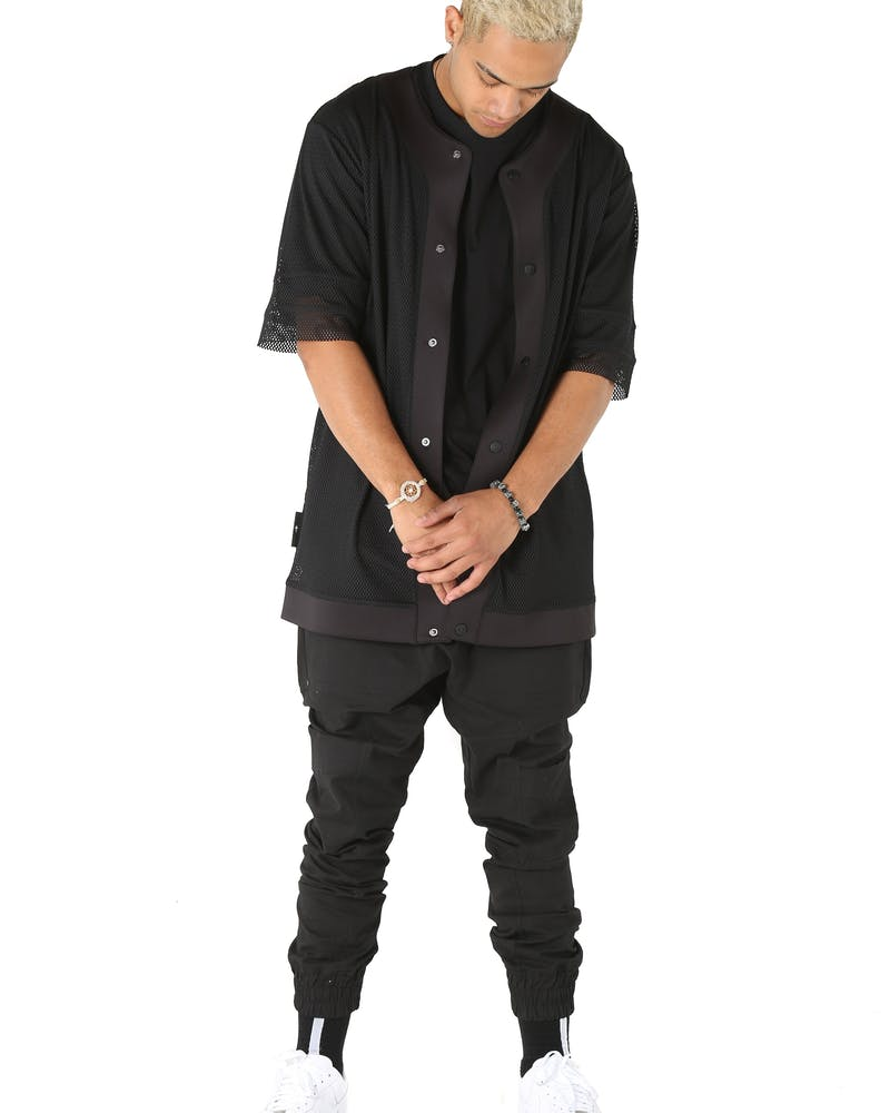 The Anti-Order Non Leisure Lux Baseball Shirt Black