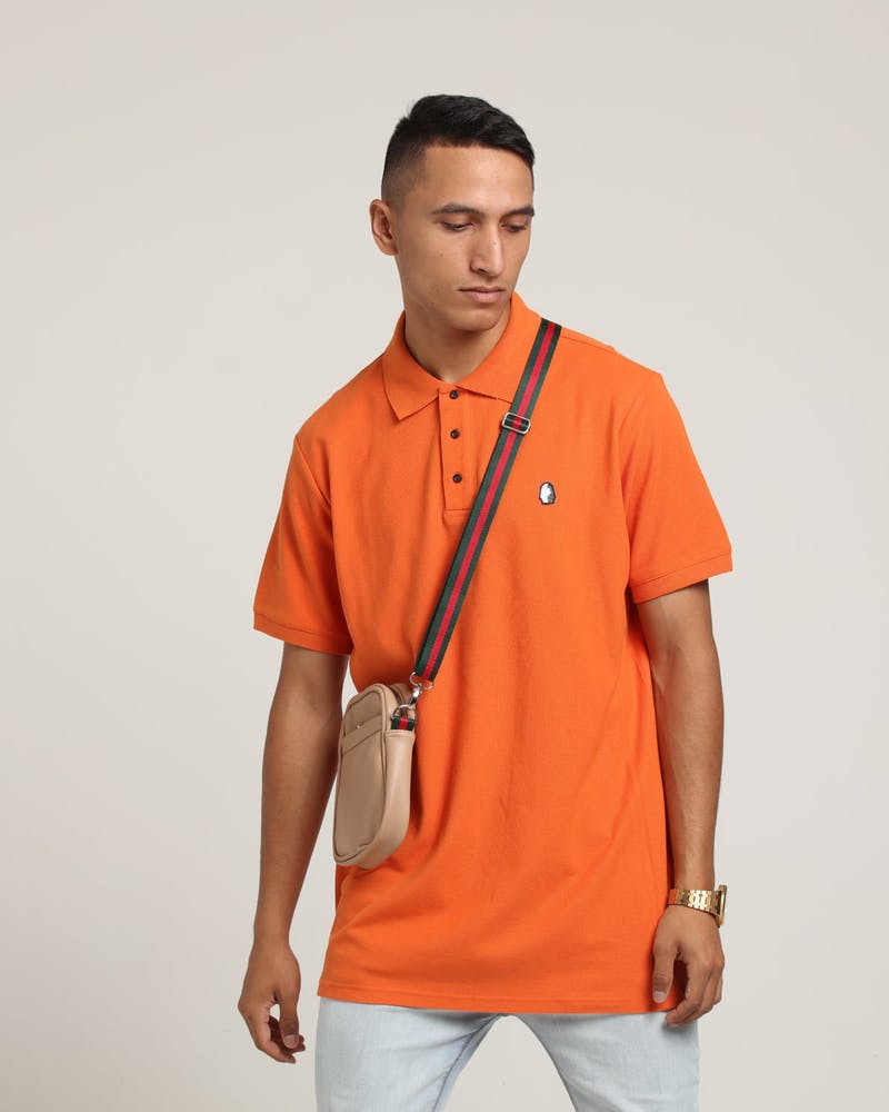 Last Kings Royal SS Polo Orange