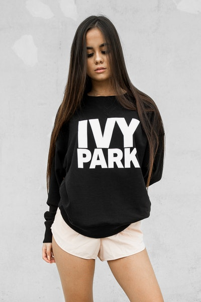 Ivy Park Logo Sweat Black