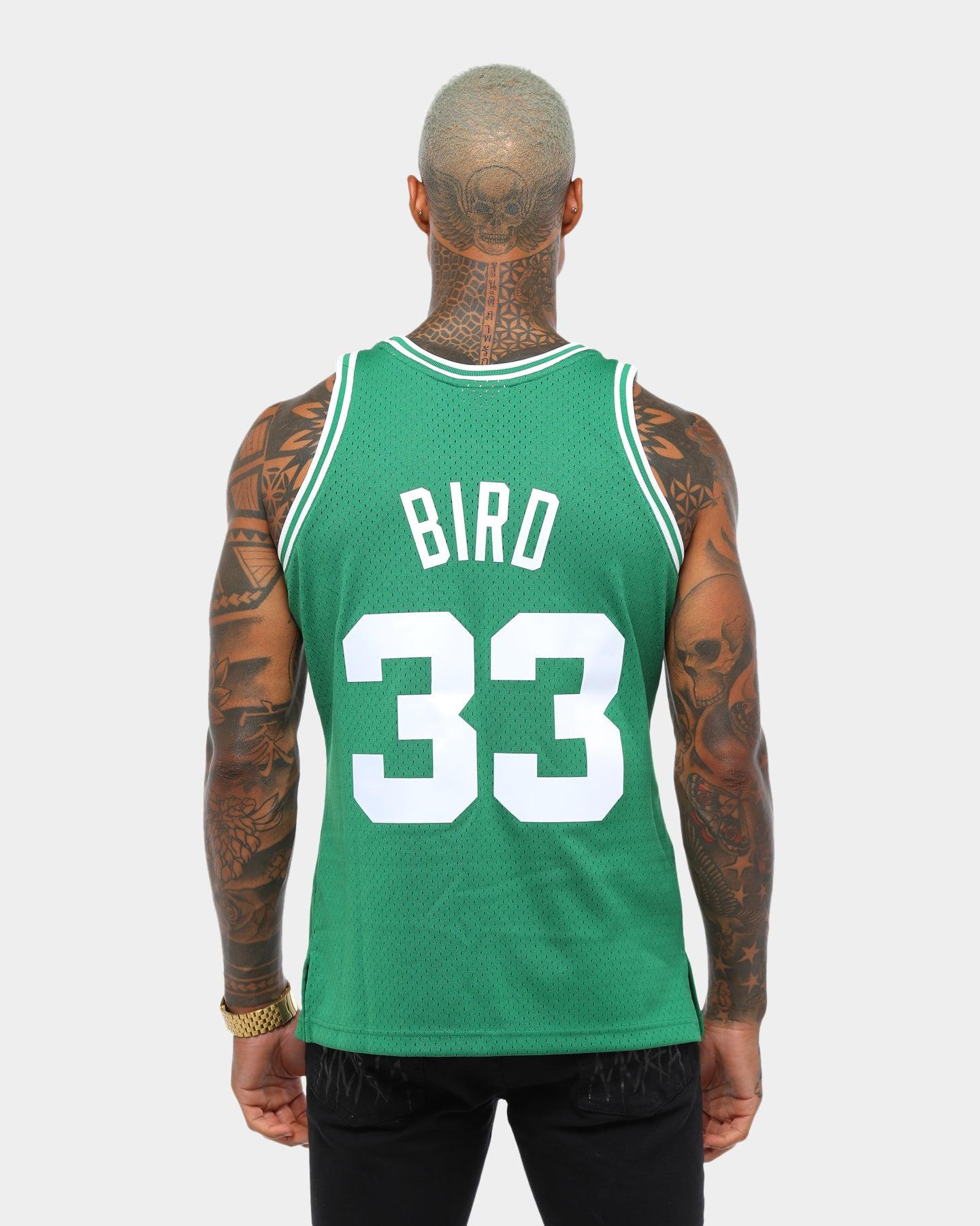size S//M//L NBA Larry Bird #33 Boston Celtics RETRO Green Basketball jersey