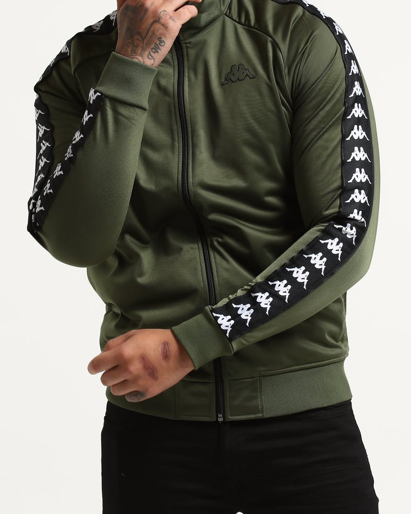 Kappa 222 Banda Anniston Jacket Army Green