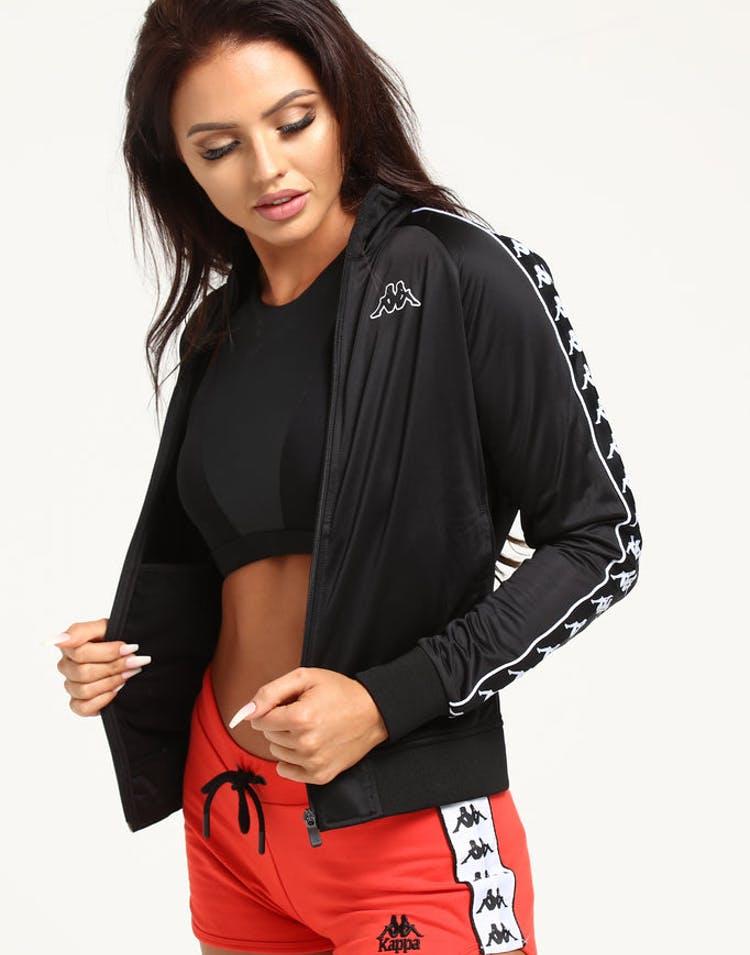 f973adc4bf Kappa Women's 222 Banda Wanniston Slim Jacket Black