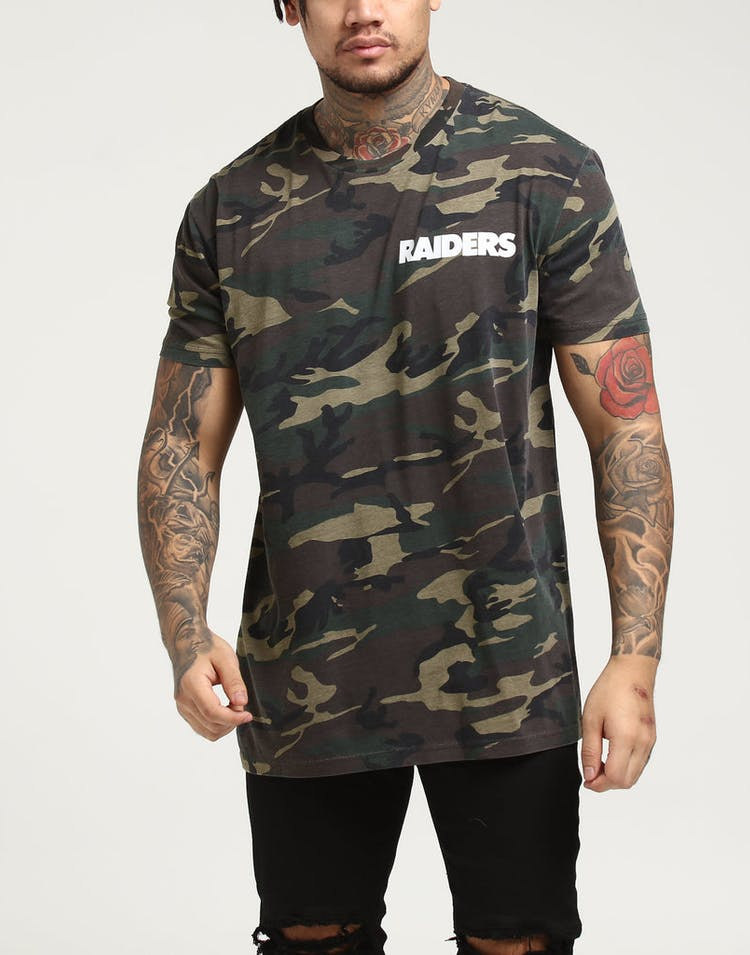 2eacc85b Majestic Athletic Oakland Raiders Jeaner Tee Camo/White
