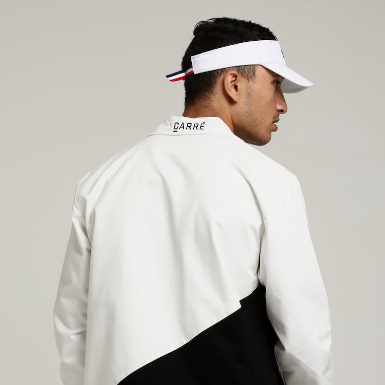 Carré Diagonal Jacket Black/White