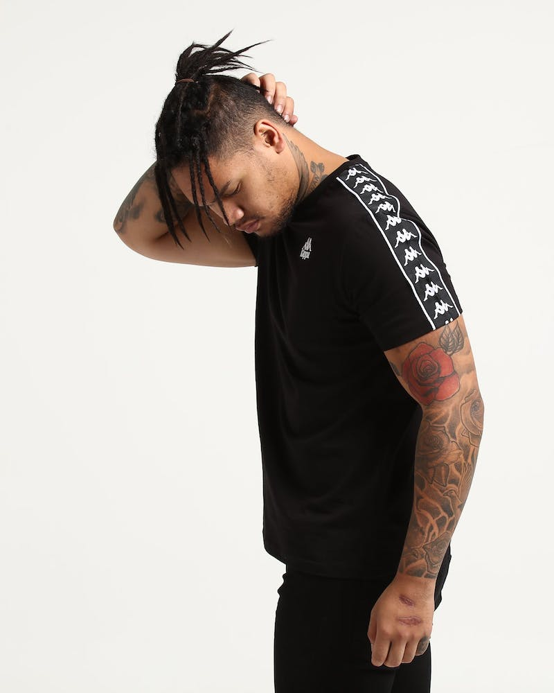 Kappa Authentic Charlton SS Tee Black