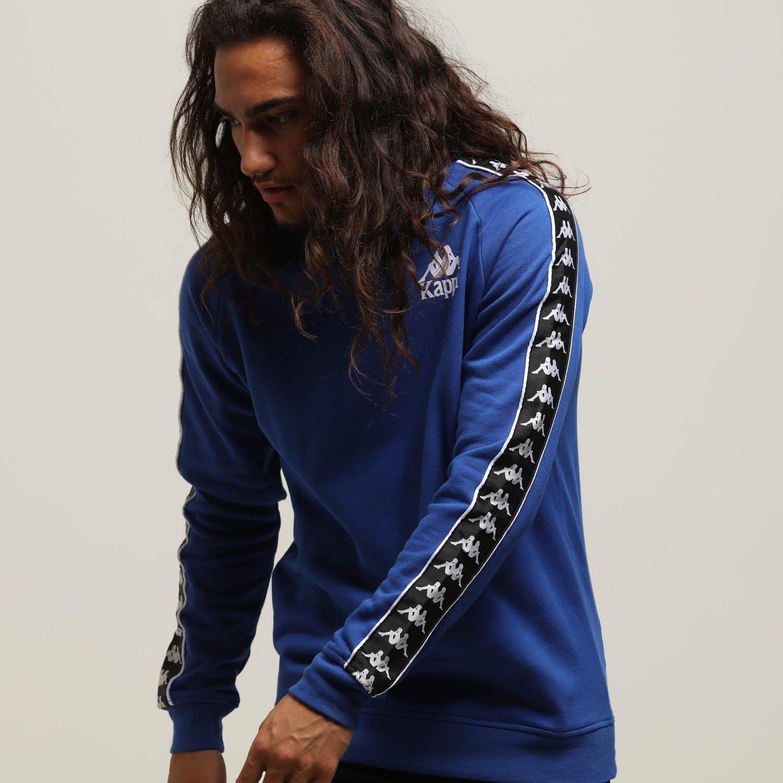 Indiferencia Noticias conveniencia  Kappa Authentic Hassan Crew Blue/Black | Culture Kings US