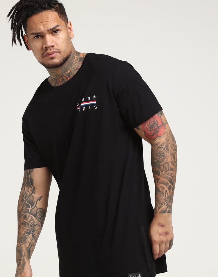 Carré Bannerol Capone SS 3 Tee Black