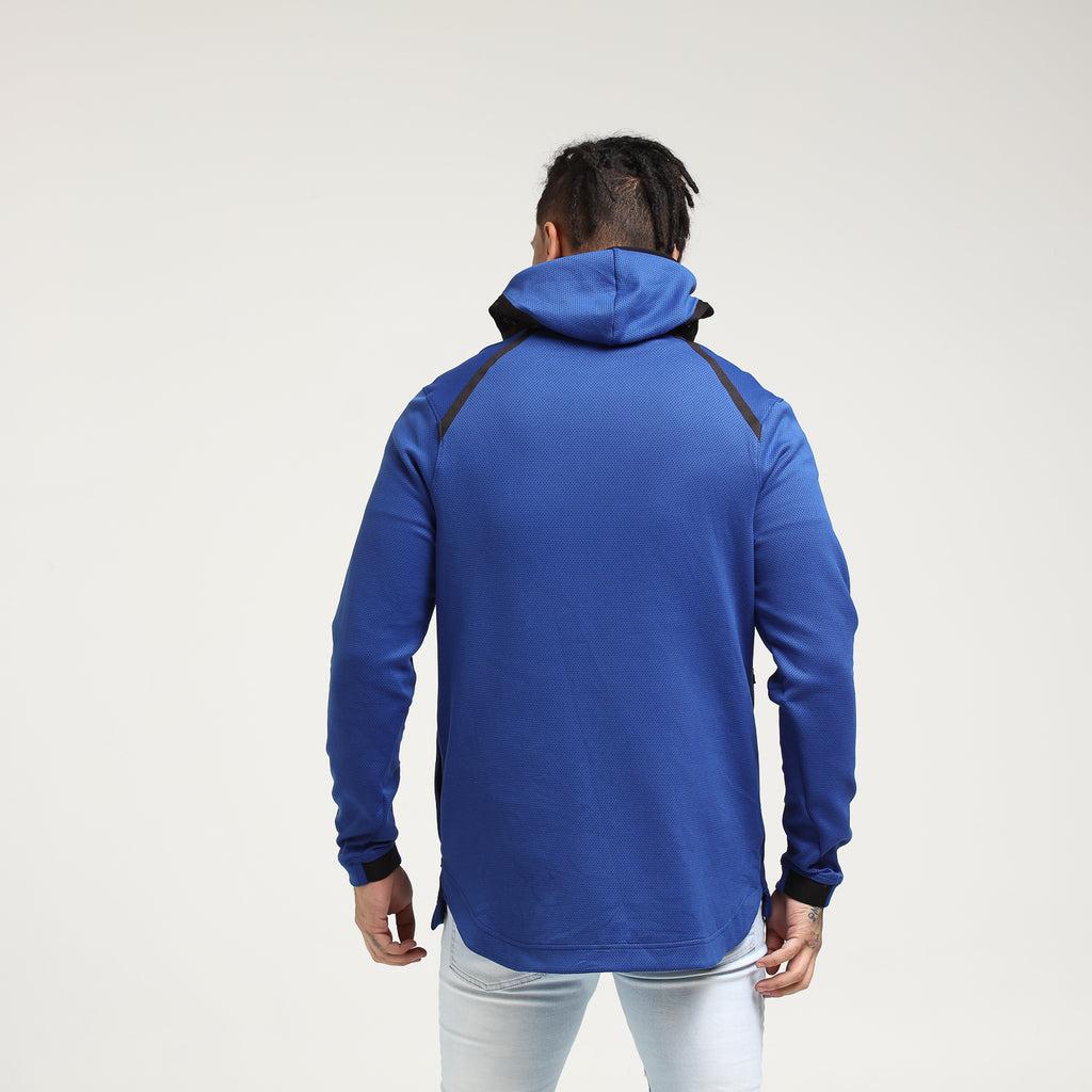 New York Knicks Nike Therma Flex Showtime Hood BlueBlackWhite