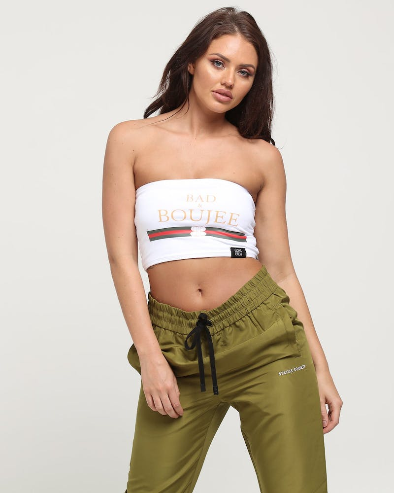 Goat Crew Bad & Boujee Women's Bandeau White