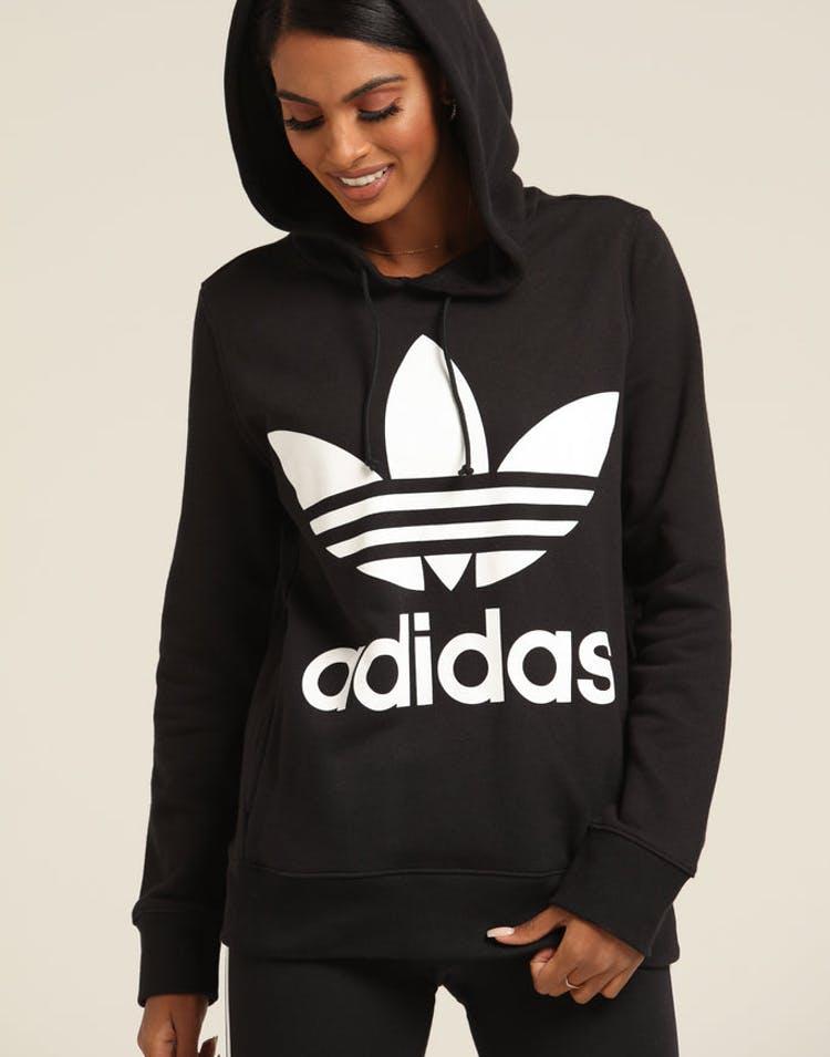 a0076146d0 Adidas Women's Trefoil Hoodie Black