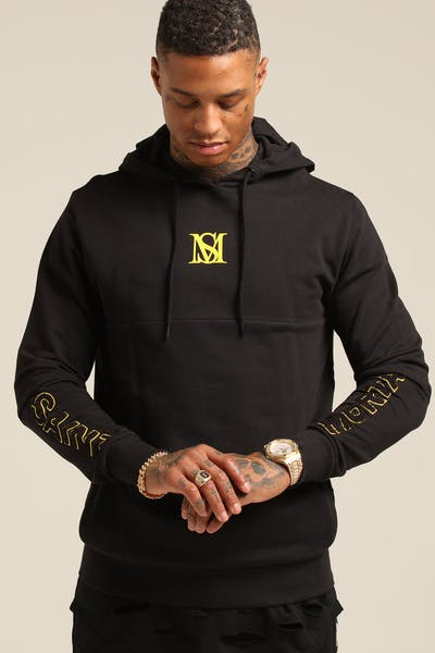Saint Morta Justice New Age Hoody Black/Yellow
