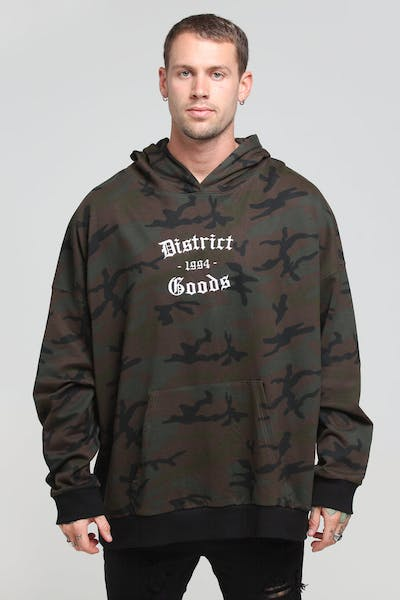 District Goods Ancient Hoodie Camo