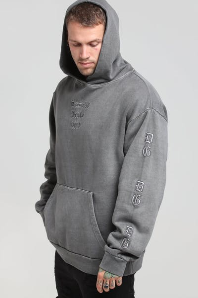 District Goods Ancient Lead Hoodie Charcoal