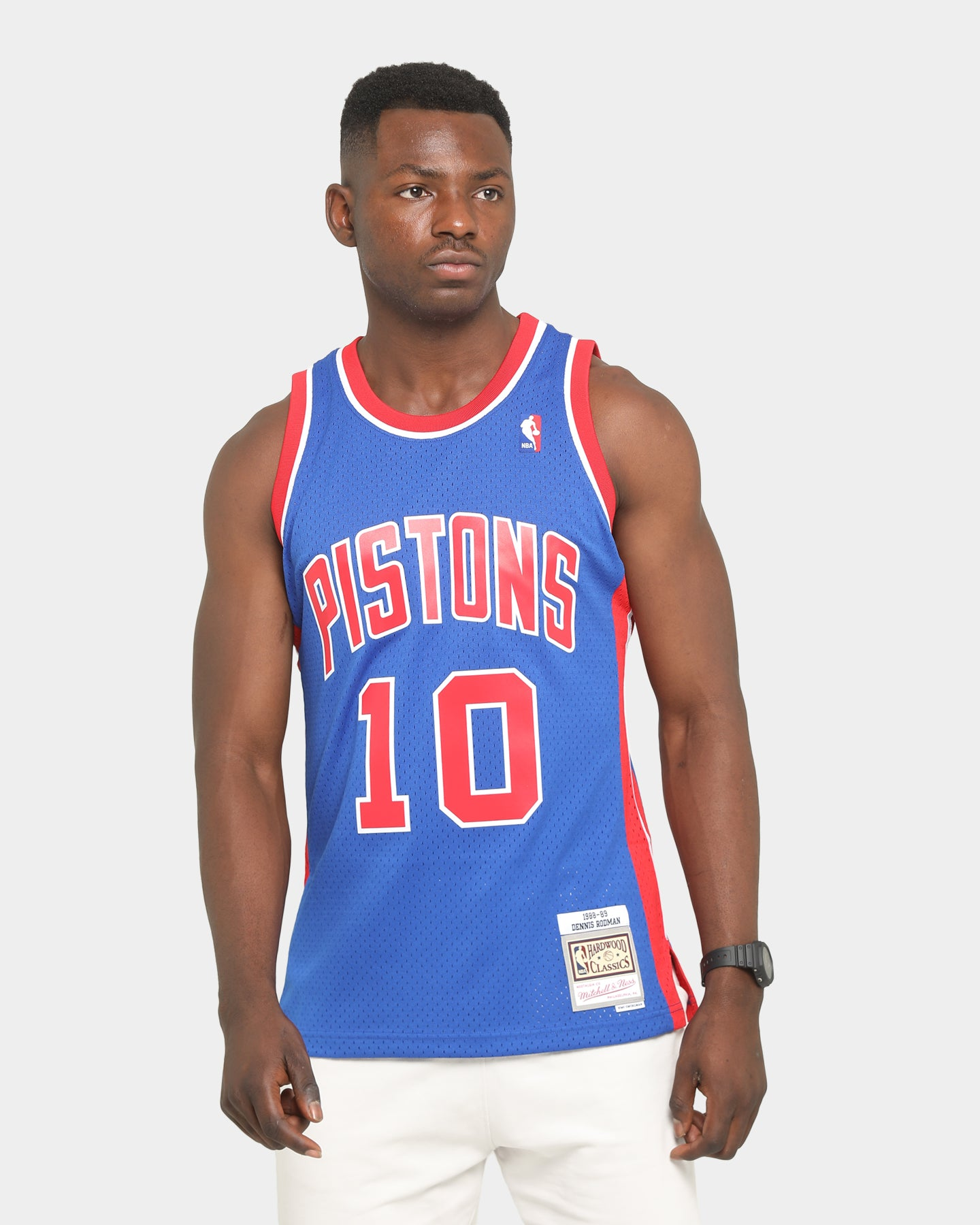 Dennis Rodman #10 Detroit Pistons Retro Swingman Jersey