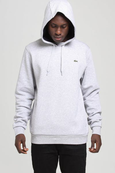 Lacoste Hooded Pullover Silver/Navy