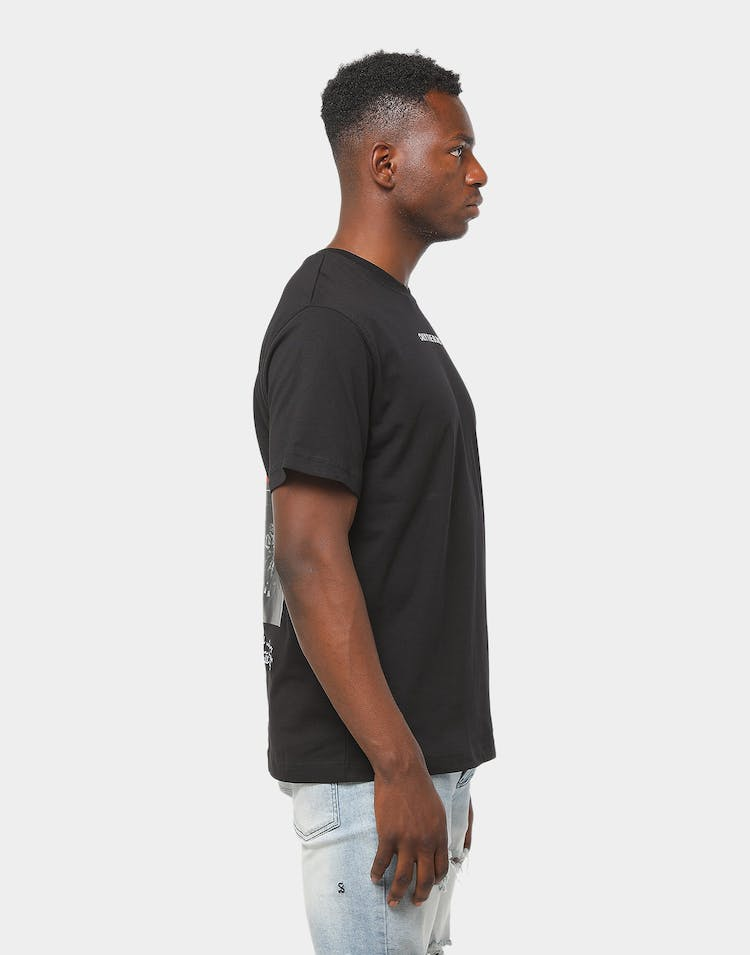 Only The Blind Heritage Oversize Tee Black