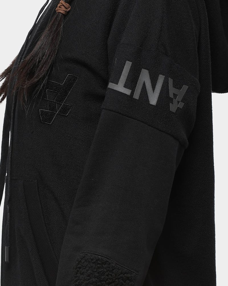 The Anti-Order Non Vertical Hoodie Black
